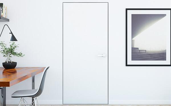 Drzwi malowane