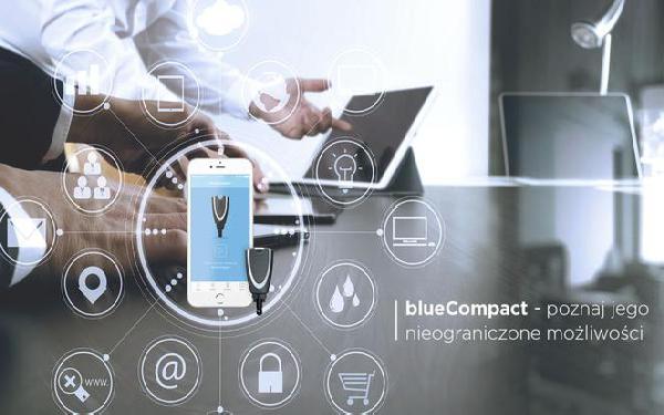 blueCompact - pierwszy system dostępowy zarządzany smartfonem