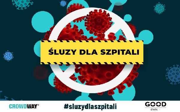 Crowdway.pl i Good4Wall ruszają ze zbiórką na rzecz szpitali