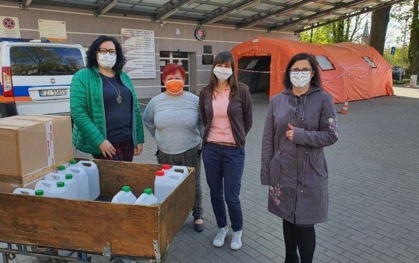 ROCKWOOL przekazuje szpitalom sprzęt ochronny
